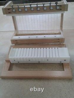 16 Bar Wire Soap Cutter 3/4 handmade wooden soap cutter/soap loaf cutter HDPE