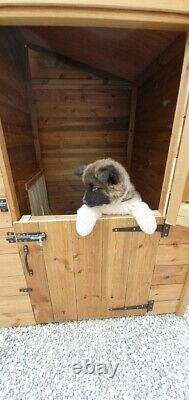8 X 4ft Wooden Dog Kennel And Run/ Cattery/Dog Run