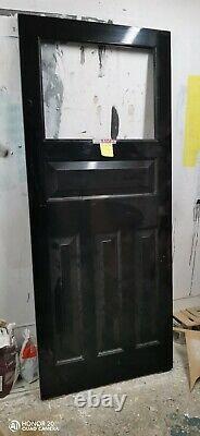 Accoya timber Front Door HANDMADE-BESPOKE-FRONT DOOR-WOODEN Victorian Door