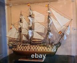 Artesania Latina Mantua Corel Mamoli Handmade Wooden Ship Model Santa Ana 1/84