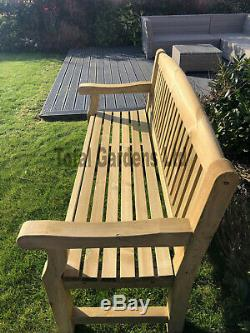 Athol Chunky 5 Foot Wooden Garden Bench Brand New SUMMER SALE LIMITED STOCK