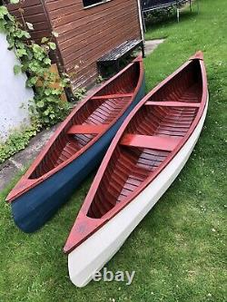 Beautiful Hand-built Weston Wooden Canoe (uk Made) Bespoke Rare Boat