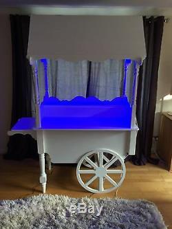 Candy Cart Sweet Cart Wedding Cart Market Display Trolley Florist Cart For Sale