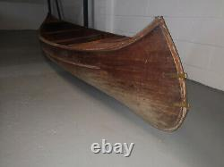 Canoe handmade wooden canoe 1940