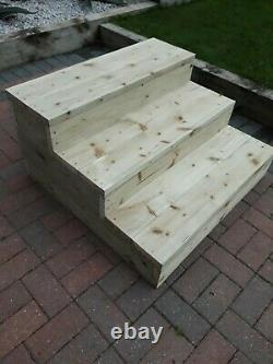 Caravan / Mobile Home wooden steps Handmade ££ message for discount ££