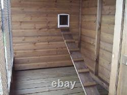 Cattery / Cat Kennel and Run From £365