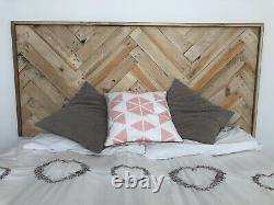 Custom Hand Made Wooden Pallet Headboard. Single, Double, King, Super King &More