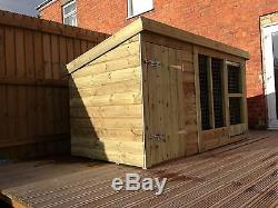 Dog Kennel And Run 4'4 Tall Price From £295