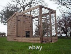 Dog Kennel And Run. Open Top Run From £450