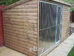 Dog Kennel & Run With Galvanised Run Panel From £515
