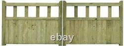 Drive gate handmade wooden cottage style driveway gates Free DELIVERY