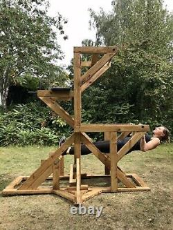 Hand Made Wooden Multi Gym