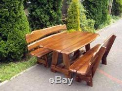 Hand-made Wooden Garden Furniture