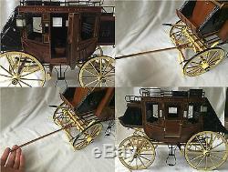 Handmade 110 wooden museum quality model 1848 Stage Coach Artesania Latina kit
