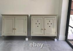 Handmade Bespoke Wooden Shaker Country Style Painted Complete Kitchen