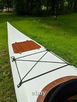 Handmade Wooden 17ft Sea Kayak
