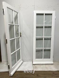 Handmade-bespoke Wooden French Doors-exterior-external-timber-double Glazed-pine