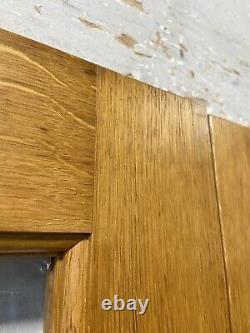 Handmade-bespoke Wooden French Doors-hardwood-solid Oak-georgian Bars-internal