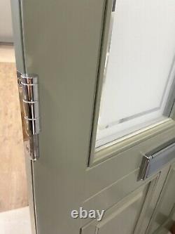 Handmade-bespoke Wooden Front Entrance Door-timber Windows-external-exterior-new