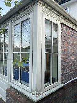 Hardwood Bespoke Handmade Orangery-conservatory-wooden-room-lantern-garden Room