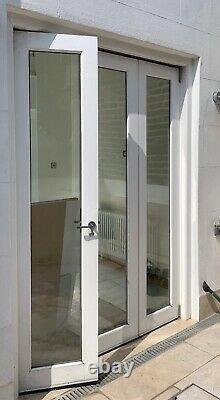 Hardwood Wooden Bifolding Doors-bifolds-narrow-tall-mahogany-handmade-bespoke