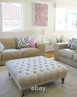 Hot Sale Chesterfield Footstool