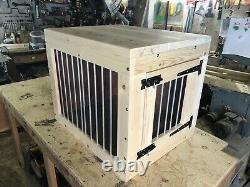 Indoor dog kennel wooden crate delivery included depends on post code