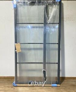 Kloeber Handmade/bespoke Black Clad Window-sidelight-wooden-aluminium-crittall