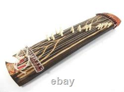 Koto portable acoustic wooden harp 13 strings traditional instrument 17 inch 2