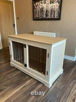 Luxury Bespoke Wooden Dog Crate (Handmade To Your Specific Size)