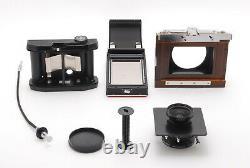 MINT Handmade Medium Format Camera with Super Angulon MC 47mm, Horseman 8EXP