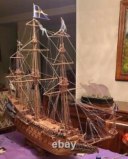 Mantua Artesania Latina Corel Mamoli Handmade Wooden Ship Model Vasa 1/60