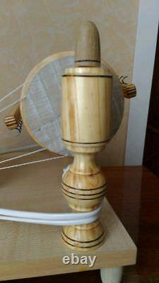 New Ecologically Wooden Electric Spinning Wheel Handmade Russia From Manufacture