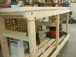New Heavy Duty Hand Made 6ft Wooden Work Bench