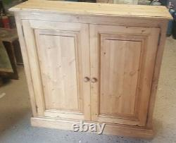 New Solid Pine Shoe Cupboard, Wooden Shoe Storage Unit Made To Order