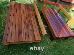 Outdoor Patio Garden Furniture, Bespoke wooden furniture, made to measure