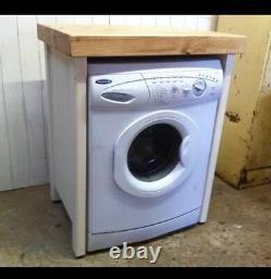 Pine Freestanding Wooden Appliance Gap Unit Dishwasher Washing Machine Cover