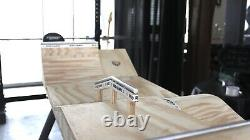 Reed Ramps Fingerboard PARK Handmade Wooden Fingerboard Obstacle Ramp FLOW PARK