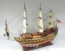 Secret Of The Unicorn-LA LICORNE Tall Ship Model 36 Handmade Wooden Model