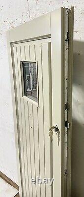 Timber Windows Handmade-bespoke Wooden Front Entrance Door-sage Green-porthole