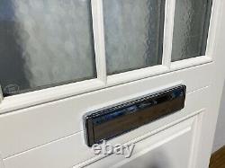 Timber Windows Handmade/bespoke-front Door-wooden-georgian Bars-grey-exterior