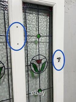 Timber Windows-handmade-bespoke Wooden Front Door-stained Glass-exterior-green
