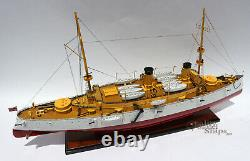 USS Olympia Protected Cruiser Handmade Wooden Ship Model 40 Scale 1100