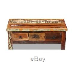 Vintage Rustic Coffee Table Shabby Chic Retro Style Handmade Furniture Wooden