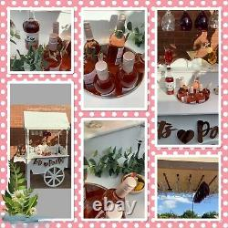 Wedding Candy Cart Prosecco Champagne Cart Bar Portable Fully Collapsible Mobile