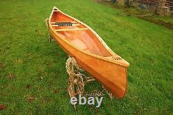 Weston 140 Handmade wooden canoe