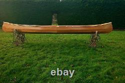 Weston 149 Handmade wooden canoe