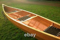 Weston 156 Handmade wooden canoe