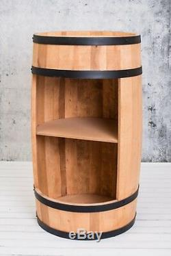 Wooden Barrel, Barrel Bar, minibar 81cm, Wine cabinet, whisky bar, Manufacturer