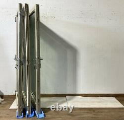 Wooden Bi Folding Doors-bifolds-folds-timber-grey-bespoke-handmade-sliding-used